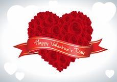 Tarjeta del día de San Valentín Rose libre illustration