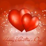 Tarjeta del día de San Valentín \ \ \ 'tarjeta de felicitación del día de s Imagen de archivo