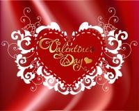 Tarjeta del día de San Valentín \ \ \ 'tarjeta del día de s Foto de archivo