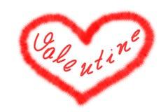 Tarjeta del día del `s de la tarjeta del día de San Valentín Imagenes de archivo