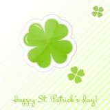 Tarjeta del día del St Patrick Fotografía de archivo libre de regalías