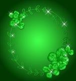 Tarjeta del día del St Patrick stock de ilustración