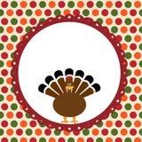 Tarjeta del día de la acción de gracias Imagen de archivo