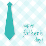 Tarjeta del día de padre Imágenes de archivo libres de regalías