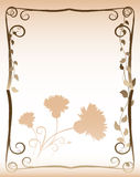 Tarjeta del diseño Foto de archivo
