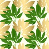 Tarjeta del diseño floral del vector Foto de archivo libre de regalías