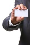 Tarjeta del hombre de negocios Foto de archivo libre de regalías