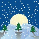 Tarjeta del invierno Foto de archivo