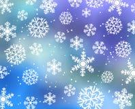 Tarjeta del invierno Imagen de archivo