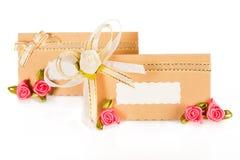Tarjeta del ivitation de la boda Imágenes de archivo libres de regalías
