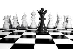Tarjeta del juego de ajedrez fotos de archivo libres de regalías