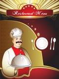 Tarjeta del menú Foto de archivo libre de regalías