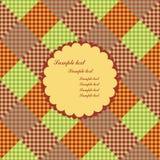 Tarjeta del menú - textura multicolora Fotografía de archivo