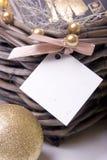 Tarjeta del mensaje Imágenes de archivo libres de regalías