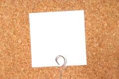 Tarjeta del mensaje Foto de archivo