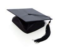 Tarjeta del mortero de la graduación imágenes de archivo libres de regalías