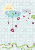 Tarjeta del niño. Vector Imagen de archivo libre de regalías