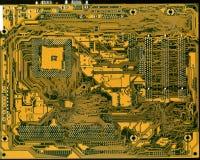 Tarjeta del ordenador imagenes de archivo