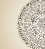 Tarjeta del ornamental del vector Fotos de archivo