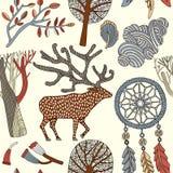 Tarjeta del otoño Ilustración del vector Imagenes de archivo