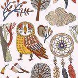 Tarjeta del otoño Ilustración del vector Foto de archivo libre de regalías