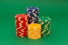 Tarjeta del póker Fotos de archivo libres de regalías