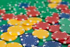 Tarjeta del póker Imagenes de archivo
