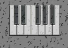 Tarjeta del piano Imágenes de archivo libres de regalías