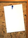 Tarjeta del Pin Fotografía de archivo libre de regalías