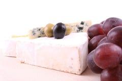Tarjeta del queso imagenes de archivo