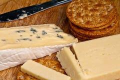 Tarjeta del queso Imágenes de archivo libres de regalías