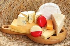 Tarjeta del queso imagen de archivo libre de regalías