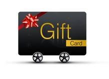 Tarjeta del regalo Fotos de archivo libres de regalías