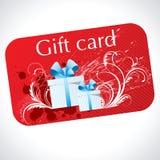 Tarjeta del regalo Foto de archivo libre de regalías