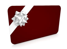 Tarjeta del regalo Fotografía de archivo libre de regalías