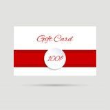 Tarjeta del regalo Imagen de archivo libre de regalías