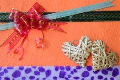 Tarjeta del regalo Imagenes de archivo