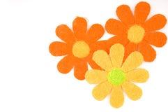 Tarjeta del resorte de la flor Fotografía de archivo