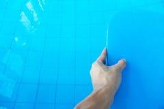 Tarjeta del retroceso de la espuma Foto de archivo libre de regalías
