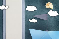 Tarjeta del saludo o de la invitación Imagen de archivo libre de regalías