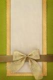 Tarjeta del saludo o de la invitación Fotografía de archivo libre de regalías