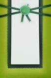 Tarjeta del saludo o de la invitación Fotos de archivo libres de regalías