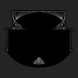 Tarjeta del saludo o de la invitación del vector Imagen de archivo