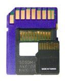 Tarjeta del SD, mini SD, y SD micro Fotografía de archivo