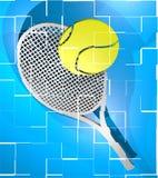 Tarjeta del tenis Imagen de archivo libre de regalías
