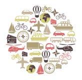 Tarjeta del transporte Foto de archivo