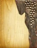 Tarjeta del vino Fotografía de archivo libre de regalías