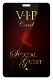 Tarjeta del VIP Foto de archivo libre de regalías