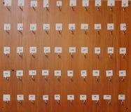 Tarjeta dominante imagen de archivo libre de regalías