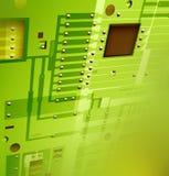 Tarjeta electrónica Stock de ilustración
